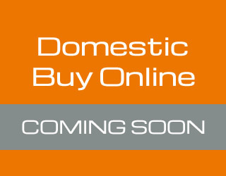 Domestic Buy Online Coming Soon
