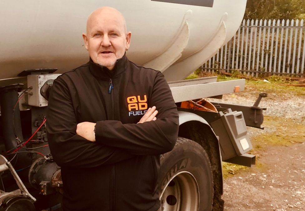 Quad Fuels Welcomes New Delivery Driver