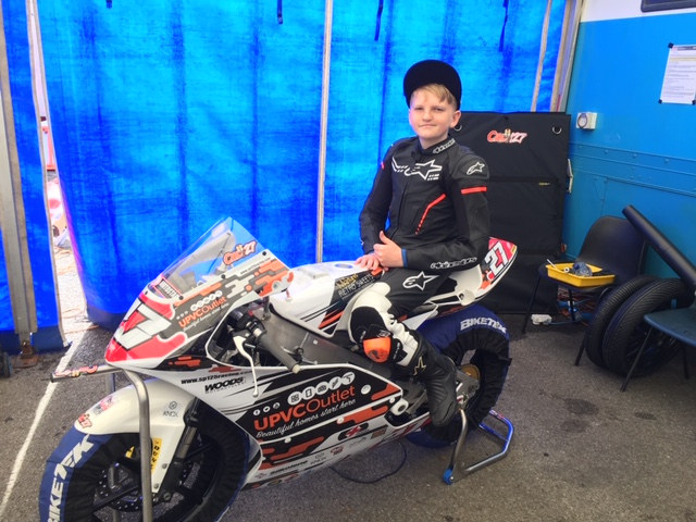 Quad Fuels Sponsoring Local British Superbike Championship Hopeful