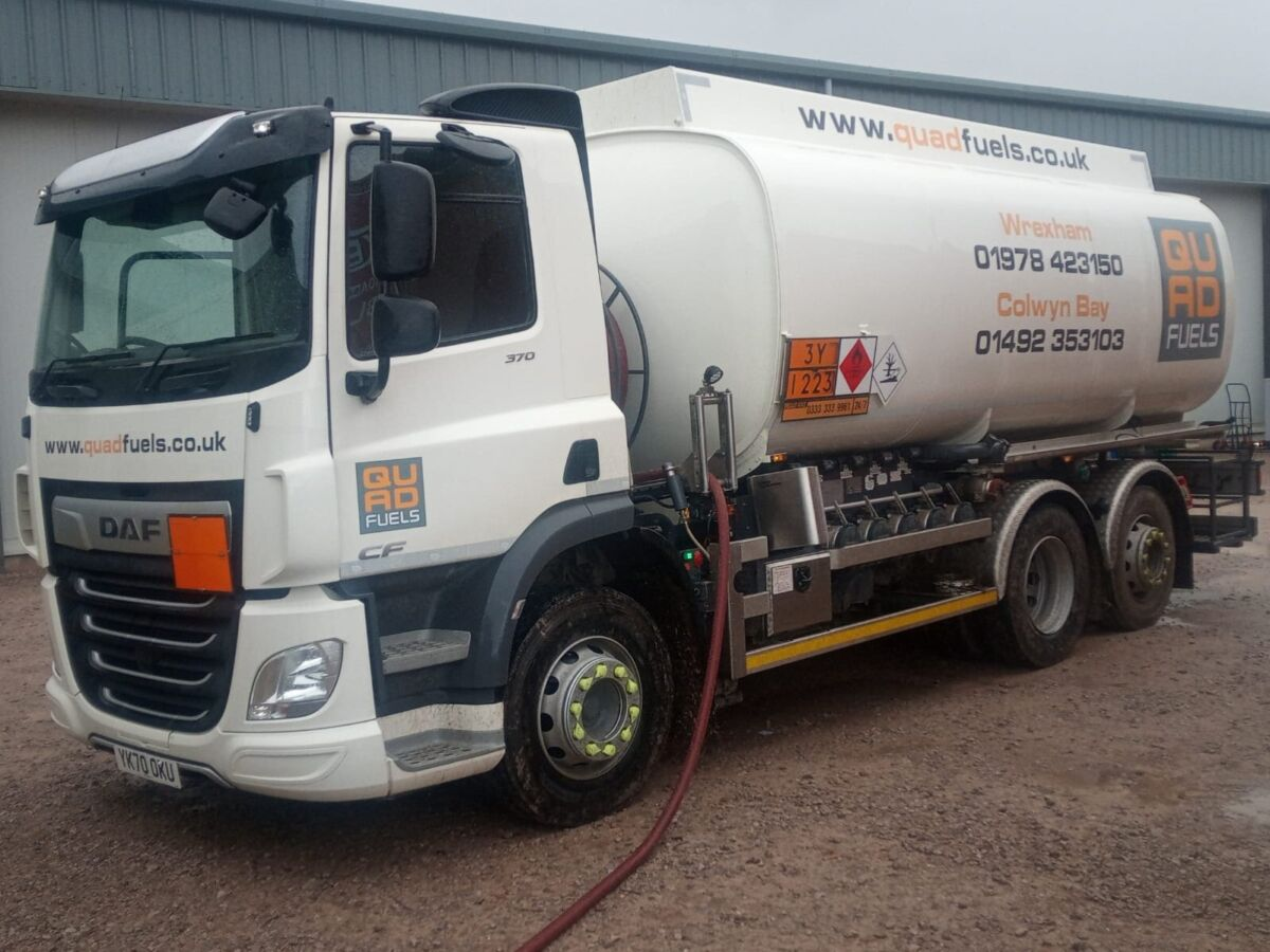 quad fuels truck